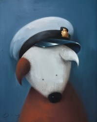 Professional Tourist by Doug Hyde -  sized 16x20 inches. Available from Whitewall Galleries